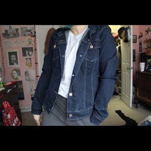 Levi's Jackets & Coats - 🌛Dark blue Levi Jean jacket